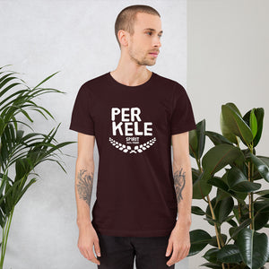 Perkele 100% proof Unisex T-Shirt