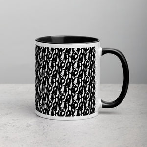 Guising Pattern Mug with Color Inside