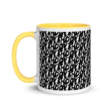 Load image into Gallery viewer, Guising Pattern Mug with Color Inside