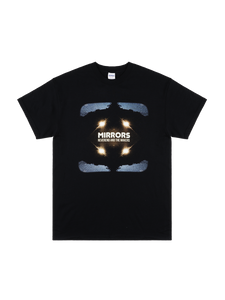 Mirrors Black T-Shirt