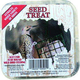 C&S Seed Treat Wild Bird Suet - NJ Pet Supply