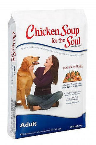 Chicken Soup for the Dog Lover's Soul Adult Dry Dog Food, 30-lb at NJPetSupply.com