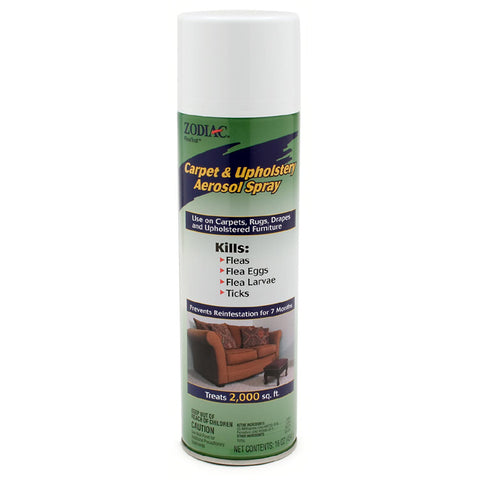 Zodiac Carpet/Upholstery Spray for Fleas and Ticks on the Furniture at NJPetSupply.com