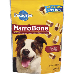Pedigree Marrobones Snacks Dog Treats and Bones at NJPetSupply.com