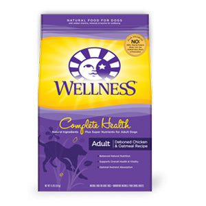 Wellness Complete Health Deboned Chicken and Oatmeal Recipe Dry Dog Food