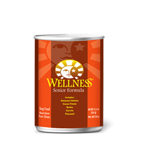 Wellness Senior Canned Dog Food.