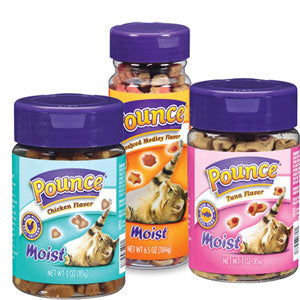 Pounce Moist Tasty Cat Treats to Keep Your Cat Satisfied at NJPetSupply.com