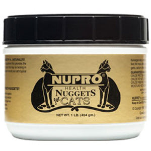 Nupro Health Nuggets Tasty Treats for Cats 1 Pound Container at NJPetSupply.com