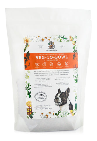 Dr. Harvey's Dog Veg-To-Bowl Fine Ground, Dehydrated Vegetable Pre-Mix at NJPetSupply.com