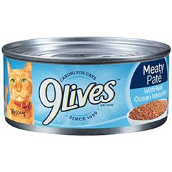 9 Lives Meaty Pate Real Tuna and Shrimp Canned Wet Cat Food at NJPetSupply.com