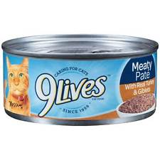 9 Lives Meaty Pate Canned Wet Cat Food at NJPetSupply.com