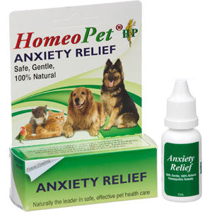 Homeopet Anxiety Relief for Stressed and Anxious Dogs and Cats at NJPetSupply.com