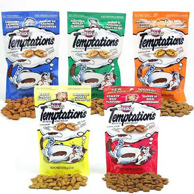Whiskas Tempations Tasty Treats for Cats 16-oz Package at NJPetSupply.com