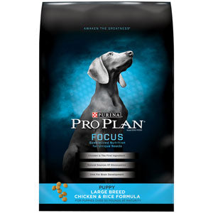 Pro Plan Focus Puppy Large Breed Dry Dog Food 34 Pound Bag at NJPetSupply.com