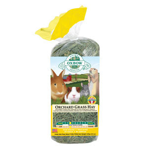 Oxbow Orchard Grass Hay 40 Ounce Package at NJPetSupply.com