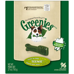 Greenies Dental Chews - Teenie (for dogs 5 -15 lbs) - NJ Pet Supply