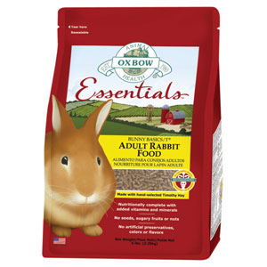 Oxbow Bunny Basics - Adult Rabbit Food 5 Pound at NJPetSupply.com