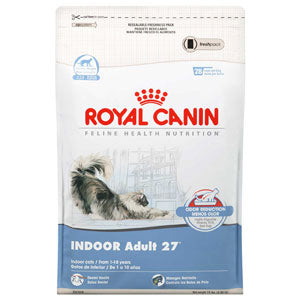 Royal Canin Feline Indoor Adult 27 Dry Cat Food 15 Pound Bag at NJPetSupply.com