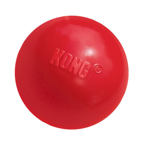 Kong Ball - Red for Playful Puppies & Dogs at NJPetSupply.com