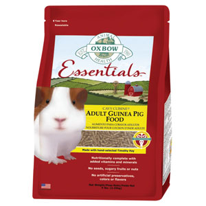 Oxbow Cavy Cuisine for Guinea Pigs 5 Pound Bag at NJPetSupply.com