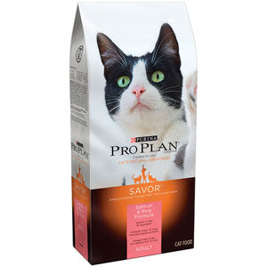 Pro Plan Adult Salmon & Rice Dry Cat Food 3.5 Pound Bag at NJPetSupply.com