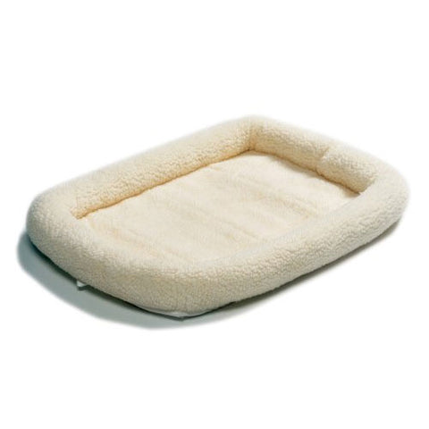 "Midwest Quiet Time Bed - Fleece 23""x13"" at NJPetSupply.com"