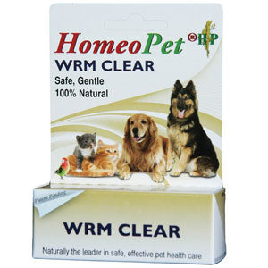 Homeopet Worm Clear for Dogs and Cats at NJPetSupply.com