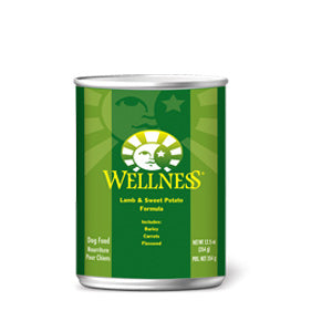 Wellness Lamb & Sweet Potato Canned Wet Dog Food at NJPetSupply.com