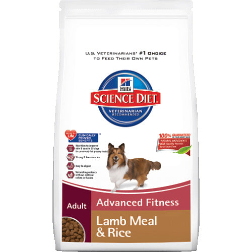 Science Diet Adult Lamb Meal & Rice Recipe Dry Dog Food 33 Pound Bag at NJPetSupply.com