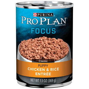 Pro Plan Focus Puppy Chicken & Brown Rice Entree Canned Dog Food