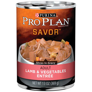Pro Plan Adult Savor Lamb & Vegetables Entree Canned Dog Food