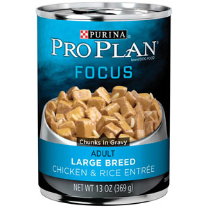 Pro Plan Adult Focus Large Breed Chicken & Rice Entree Canned Dog Food