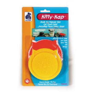 PetMate Kitty Kap 4-Size Can Lid to Store Canned Wet Dog or Cat Food at NJPetSupply.com