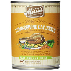 Merrick Thanksgiving Day Dinner Canned Dog Food