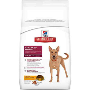 Science Diet Adult Advanced Fitness Original Dry Dog Food 5 Pound Bag at NJPetSupply.com