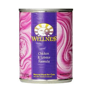 Wellness Chicken & Lobster Canned Cat Food