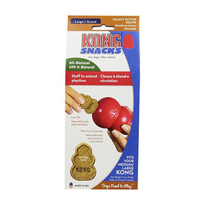Size Large Kong Stuff'N Peanut Butter Snaps 11 Ounce Package at NJPetSupply.com