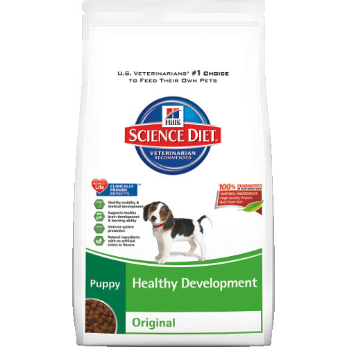 Science Diet Puppy Healthy Development Original Dry Dog Food 4.5 Pound at NJPetSupply.com