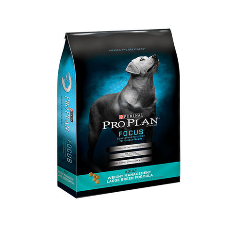 Pro Plan Focus Weight Management Large Breed Dry Dog Food at NJPetSupply.com