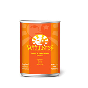 Wellness Turkey & Sweet Potato Canned Dog Food