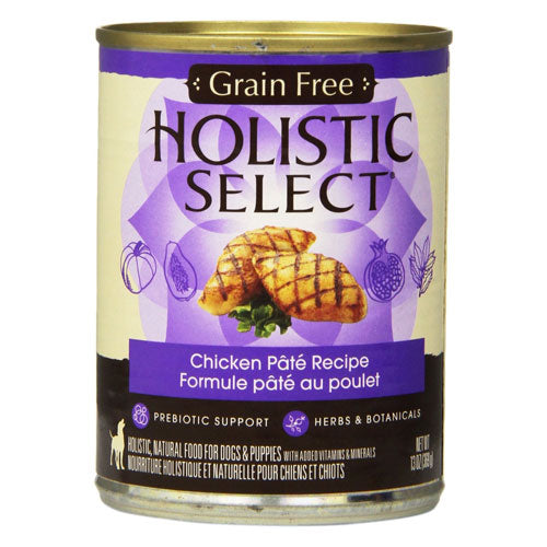 Holistic Select Adult Chicken Recipe Canned Wet Dog Food at NJPetSupply.com