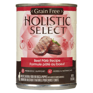 Holistic Select Adult Beef Recipe Canned Wet Dog Food at NJPetSupply.com