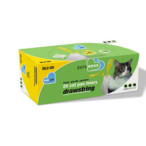 Van Ness Pan Liners Large 20 Pack at NJPetSupply.com