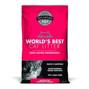 World's Best Cat Litter - Multiple Cat Clumping Formula