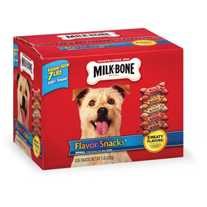 Milk-Bone Flavor Snacks Small/Medium Biscuits