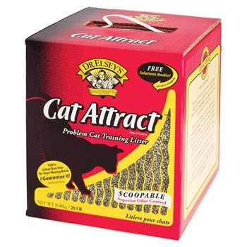 Cat Attract Cat Litter 20 Pound Bag at NJPetSupply.com
