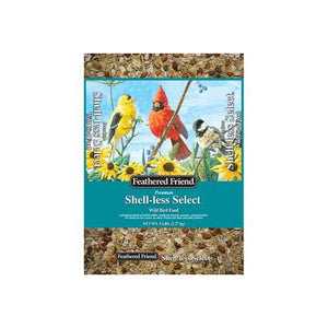Feathered Friend Shell-less Select Wild Bird Seed 5 Pound Bag at NJPetSupply.com