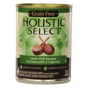 Holistic Select Adult Lamb Recipe Canned Wet Dog Food at NJPetSupply.com