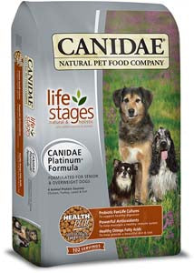 Canidae Platinum Formula for Senior & Overweight Dogs Dry Dog Food at NJPetSupply.com