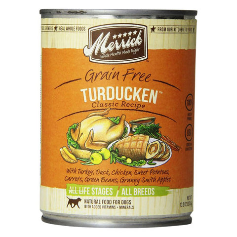 Merrick Turducken Canned Wet Dog Food at NJPetSupply.com